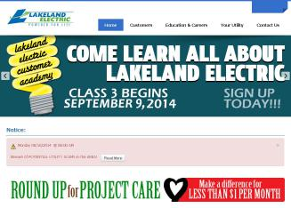 Lakeland+Electric Website