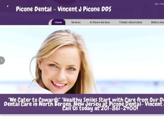 Picone+Dental++-+Vincent+J+Picone+DDS Website