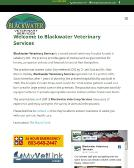 Blackwater Veterinary Services
