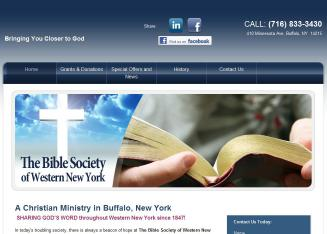 Bible Society of Western NY INC