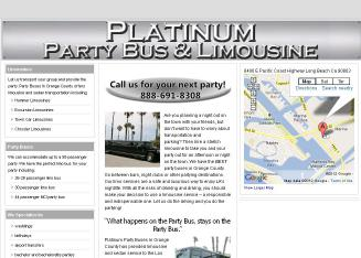 Party Buses In Orange County (Limousine Services) Huntington Beach