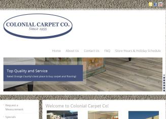 Colonial+Carpet+CO Website
