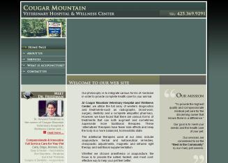 Cougar Mountain Veterinary Hospital & Wellness Center