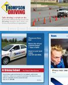 A-1+Thompson+Driving+School Website