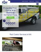 F+%26+W+Pest+Control+INC Website
