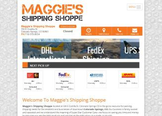 Maggie%27s+Shipping+Shoppe Website
