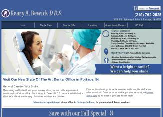 Bewick+Keary+DDS Website