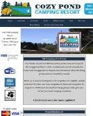 Cozy Pond Camping Resort LLC