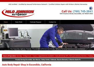 Milo Johnson Auto Body