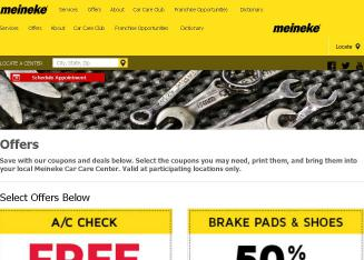 Meineke+Car+Care+Center+-+West+Chester Website