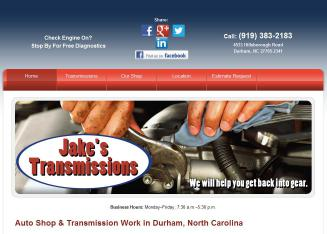 Jake%27s+Transmissions Website