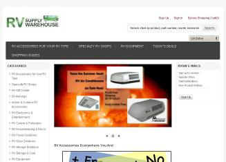 RV Supply Warehouse | RV Accessories and Supplies