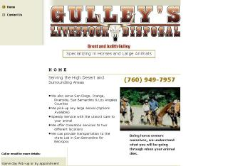 Gulley%27s+Livestock+Disposal Website