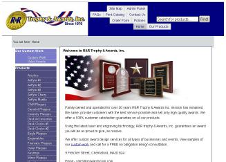 R+%26+R+Trophy+%26+Awards+Corporation Website