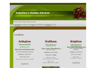 italian kitchen sabatinos