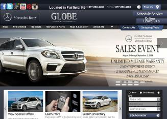 Globe+Motor+Car+Co Website