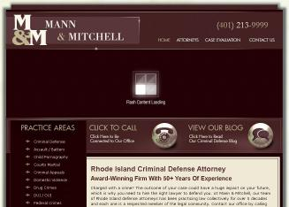 Mann+%26+Mitchell Website