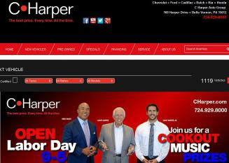 C.+Harper Website