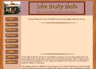 Brady+Sheds Website