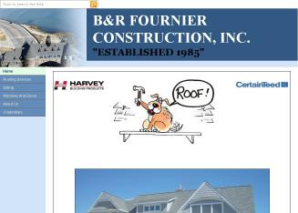 B+%26+R+Fournier+Const.+Inc. Website