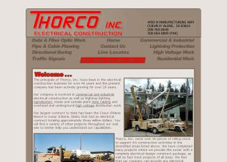 Thorco+Inc Website