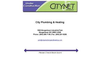 City+Plumbing+%26+Heating Website