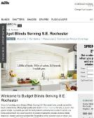 Budget+Blinds+WebSter Website