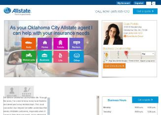 Allstate+Insurance+Company+-+Ciani+Portillo Website