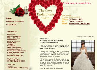Cove+Bridal+%26+Dress+Salon Website
