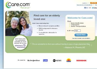 Care.com%2C+Inc. Website