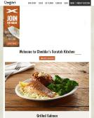 Cheddars Website
