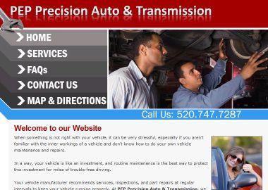 Pep Precision Auto Amp Transmission In Tucson Az 4729 E