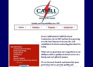 Cahill Electric Contractors Inc