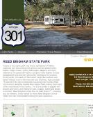 Reed+Bingham+State+Park Website