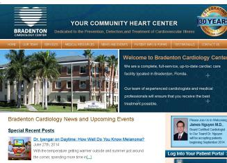 Bradenton+Cardiology+Center Website