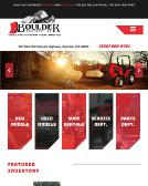 Boulder+Equipment Website