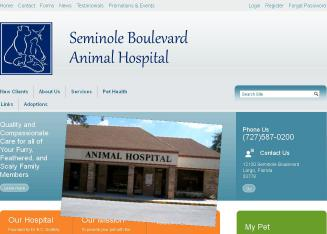 Seminole+Boulevard+Animal+Hospital+%26+Bird+Clinic Website