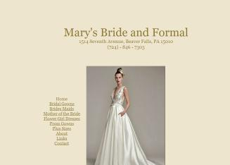 Mary's Bride & Formal