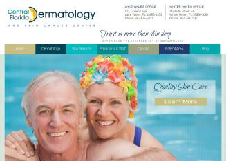 Central+Fl+Dermatology+%26+Skin+-+K+Wade+Foster+MD Website