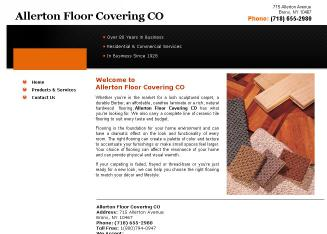 Allerton+Floor+Covering+CO Website