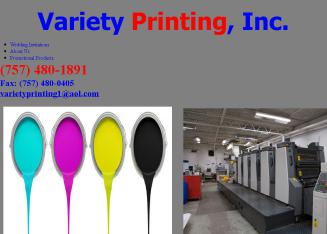 Variety+Printing+Inc Website