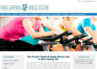 Aspen+Hill+Club Website
