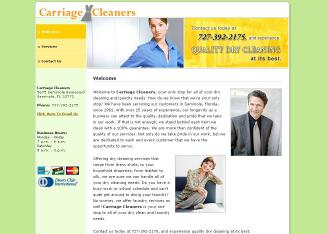 Carriage+Cleaners Website