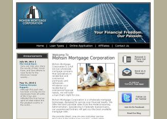 Mohsin+Mortgage+Corporation Website