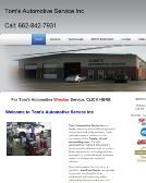 Tom%27s+Automotive+Service Website