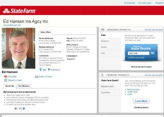 Ed+Hansen+-+State+Farm+Insurance+Agent Website