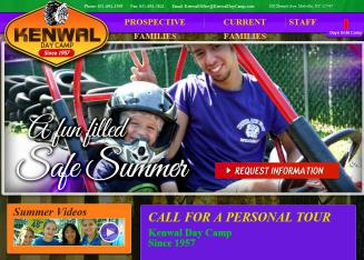 Kenwal+Day+Camp Website