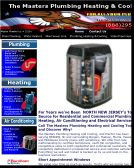 Masters+Plumbing+Cooling+%26+Heating Website