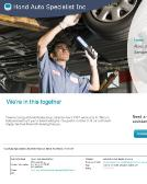 Hond+Auto+Specialist+Inc Website