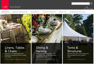 A+B+C+Special+Event+Rentals Website